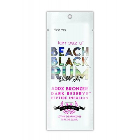 Tan Asz U Beach Black Rum 400X Bronzer 22 ml