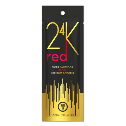 Power Tan 24K - Super Carrot Oil Red 20ml - New for 2020