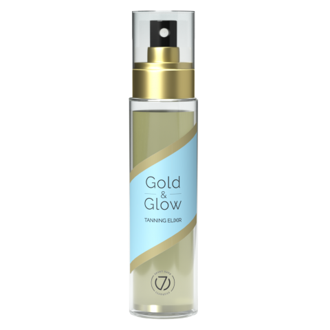 7suns Gold&Glow Dry Tanning Oil 100ml