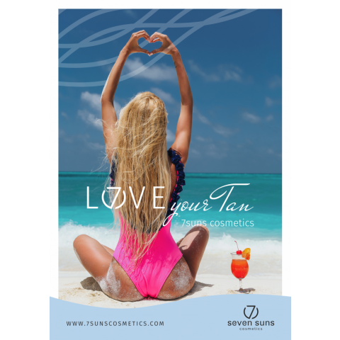 Poster Love your tan B1