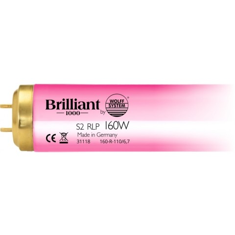 Brilliant 1000 S2 RLP 160W by Wolff System Tanning lamp