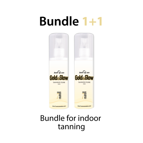 Gold&Glow Promo bundle for Indoor tanning 1+1 free