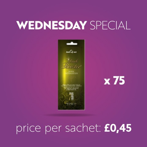 x75 7suns Touch Of Sun DARK BOOSTER 15ml   - Wednesday Special