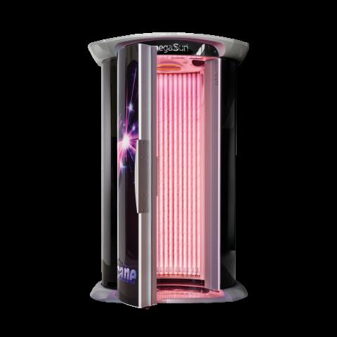Vertical solarium megaSun smartSun
