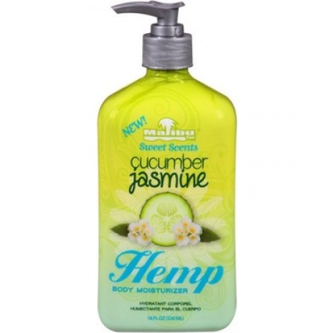 Malibu Tan Hemp Cucumber Jasmine 530ml Moisturizing lotion