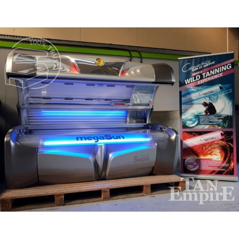 Sunbed megaSun 5600 Ultra Power