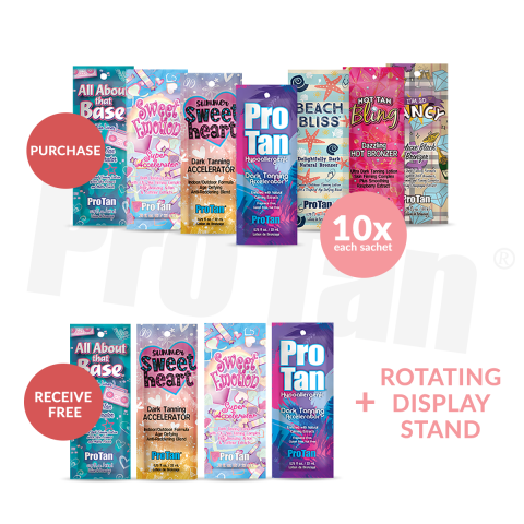 Love Me Rotating Sachet Display Deal 2019