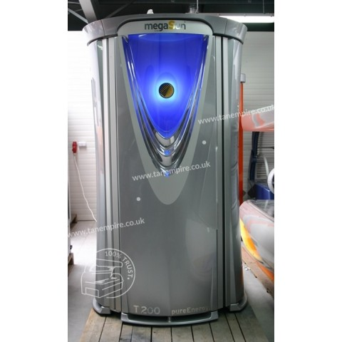 Vertical solarium megaSun T200 pureEnergy