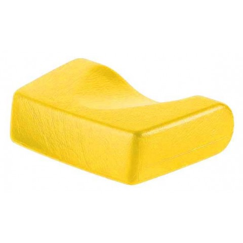 Soft headrest - yellow
