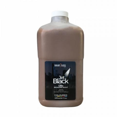 7suns Jet Black 1893ml Bronzer half gallon bottle with pump