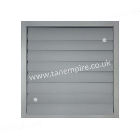 Ventilation grille with shutter 450x450