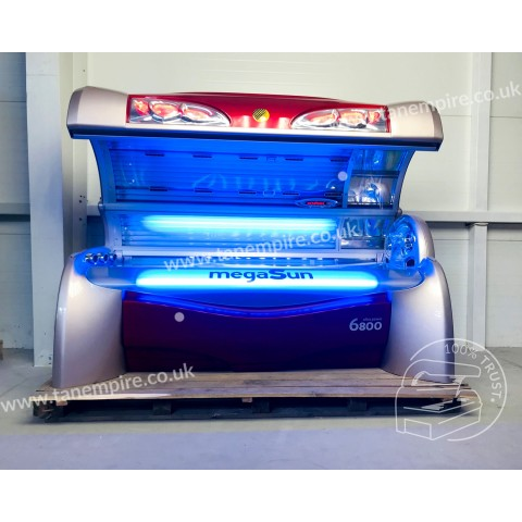 Sunbed MegaSun 6800 Ultra Power CPI Kir Royal