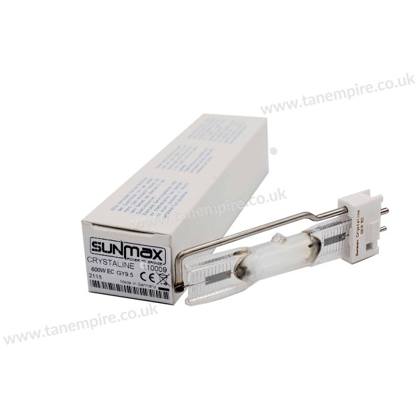 Sunmax Crystaline 600W EC GY9.5C Tanning lamp