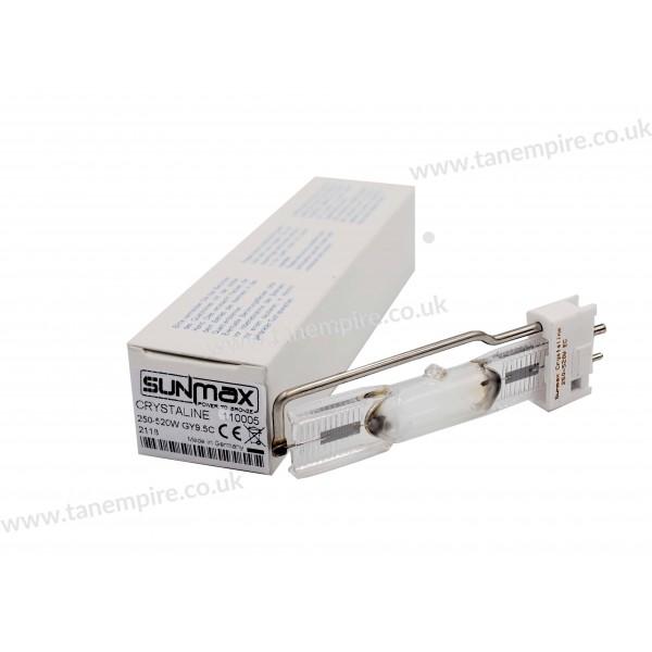 Sunmax Crystaline 250-520W EC GY9.5C Tanning lamp