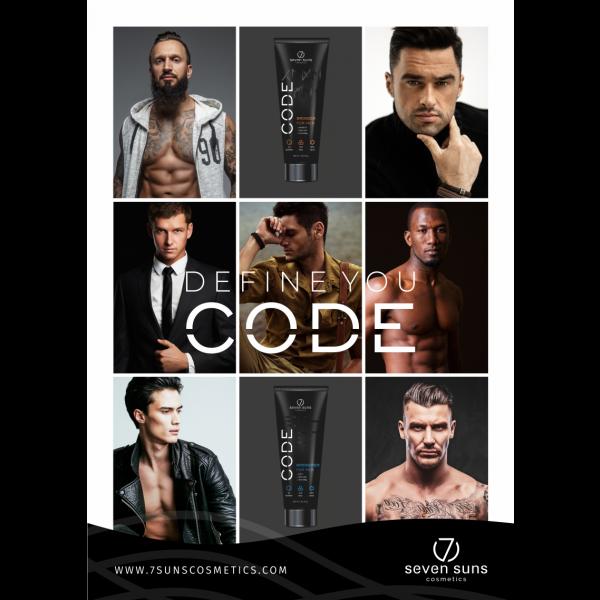 Poster CODE 7suns A3