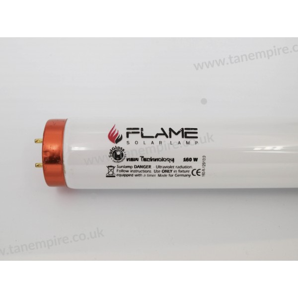 New Technology Flame 160W Longlife Solglass Tanning lamp