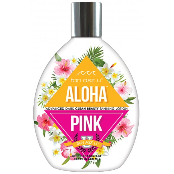 Tan Asz U ALOHA PINK 400ml Tanning lotion