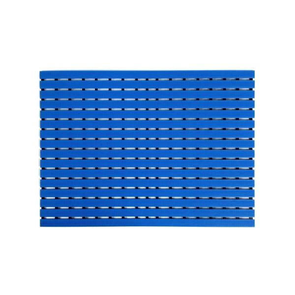 Long durability floor mat - blue