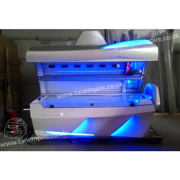 Sunbed Ergoline Evolution 600 Turbo Power White Led