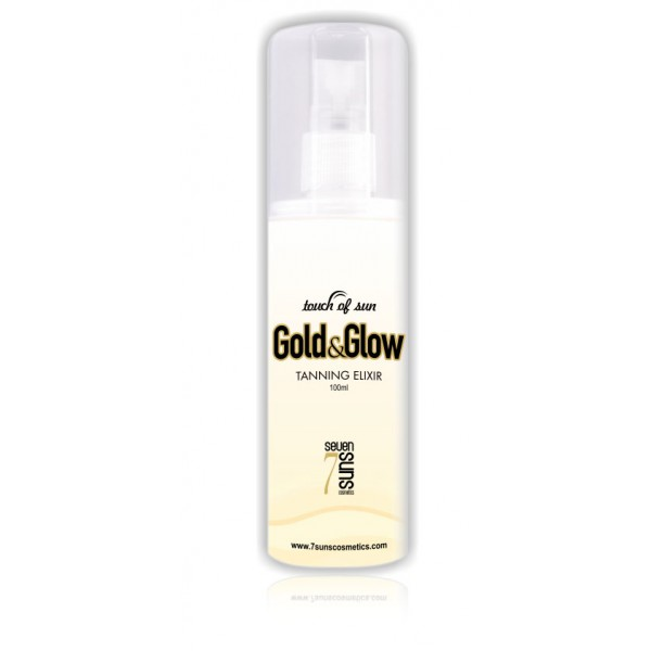 7suns Gold&Glow 100ml Dry oil