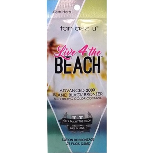 Tan Asz U Live 4 the Beach 22ml Black bronzer