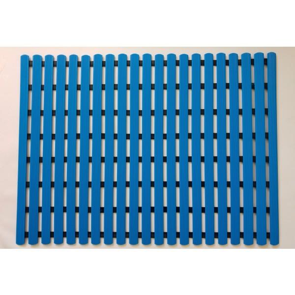 Long durability floor mat 80cm x 60cm - blue