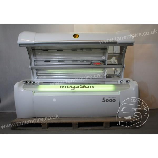 Sunbed megaSun 5000 Ultra Power CPI / white led