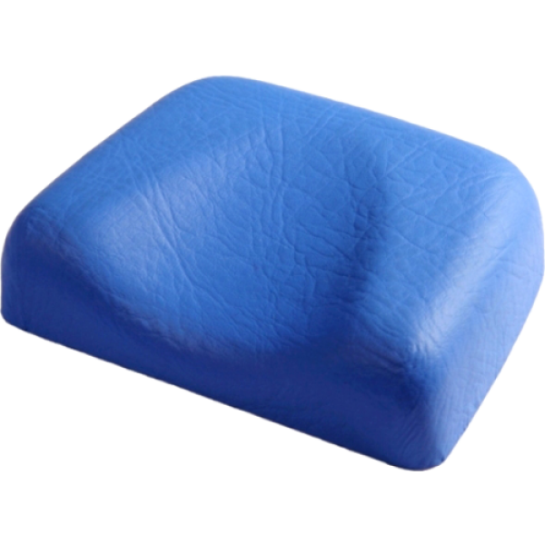 Soft headrest - blue