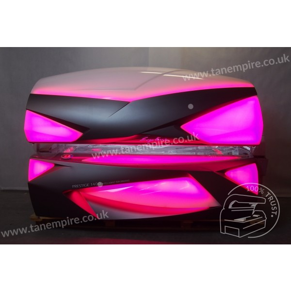 Sunbed Ergoline Prestige 1400 Intelligent Performance Carbon Grey