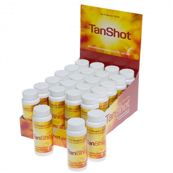 Original Tan Shot Drink display 24 pcs.