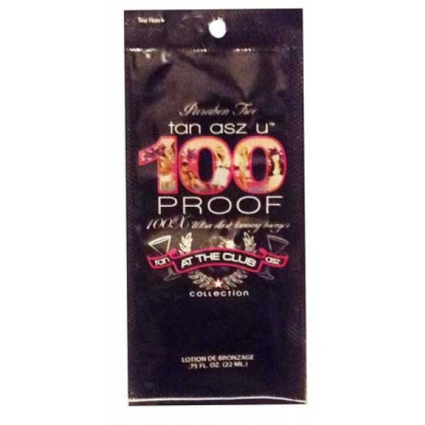 Tan Asz U 100 Proof 22ml Tanning lotion