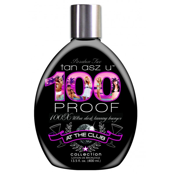 Tan Asz U 100 Proof 400ml Tanning lotion