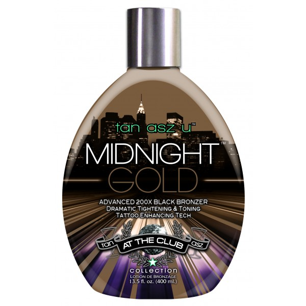 Tan Asz U Midnight Gold 400ml Bronzer