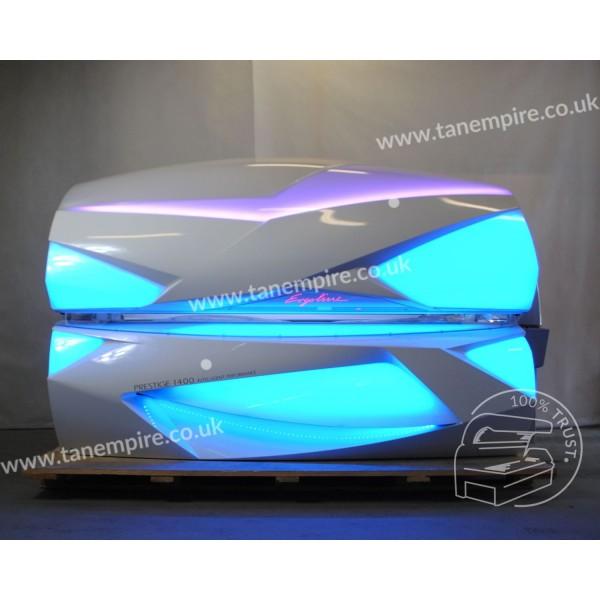 Solarium Ergoline Prestige 1400 Intelligent Performance White Led