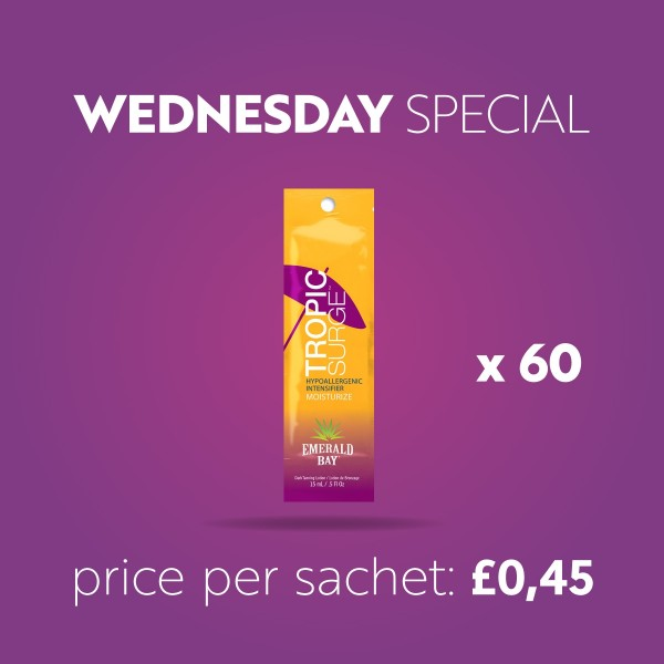 x60 Emerald Bay Tropic Surge 15 ml - Wednesday Special