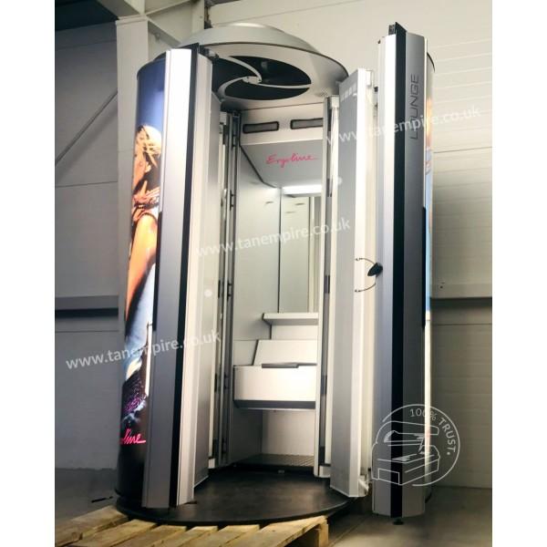 Vertical solarium Ergoline Lounge with changing room
